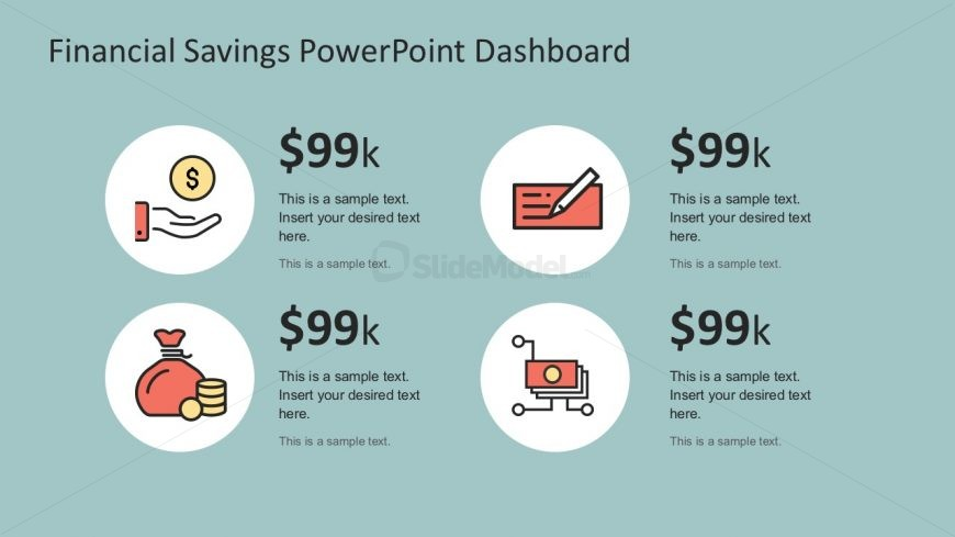 Personal Financial Infographics PowerPoint