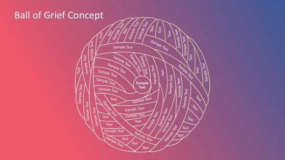 Gradient Ball of Grief Template Diagrams