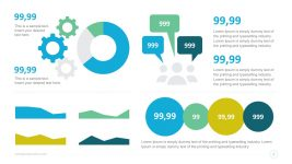 Statistics Data Charts Dashboard Infographics