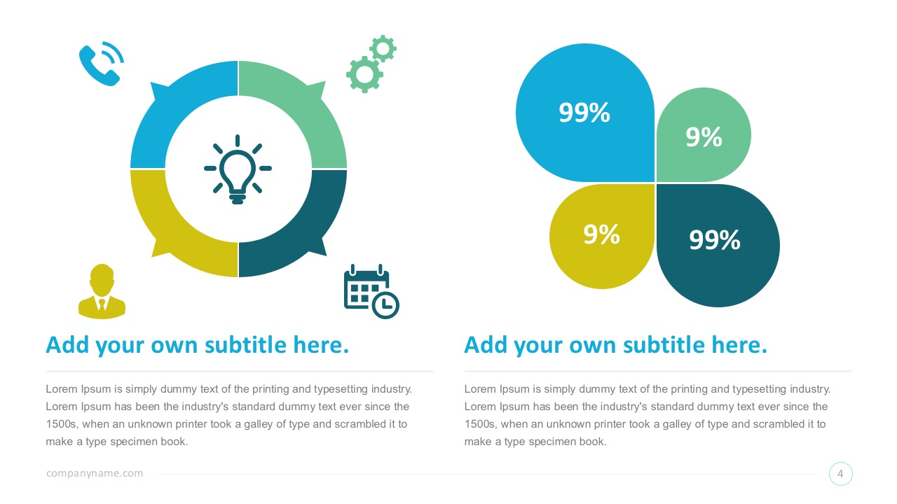 Charts and Infographics for PowerPoint