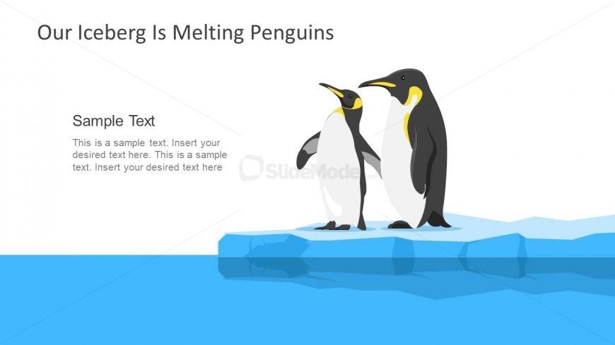 Creative Iceberg Slide Change Management Model