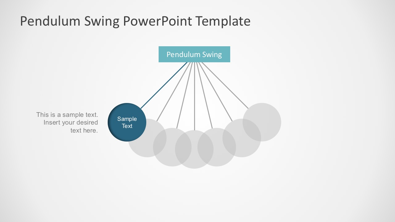 what is a design template in powerpoint - simple pendulum powerpoint presentation slidemodel