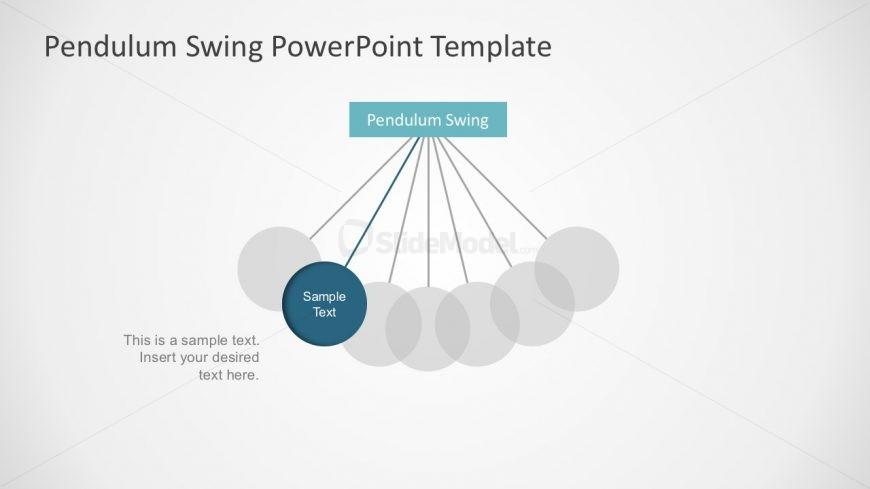 Flat Pendulum Swing with Animation