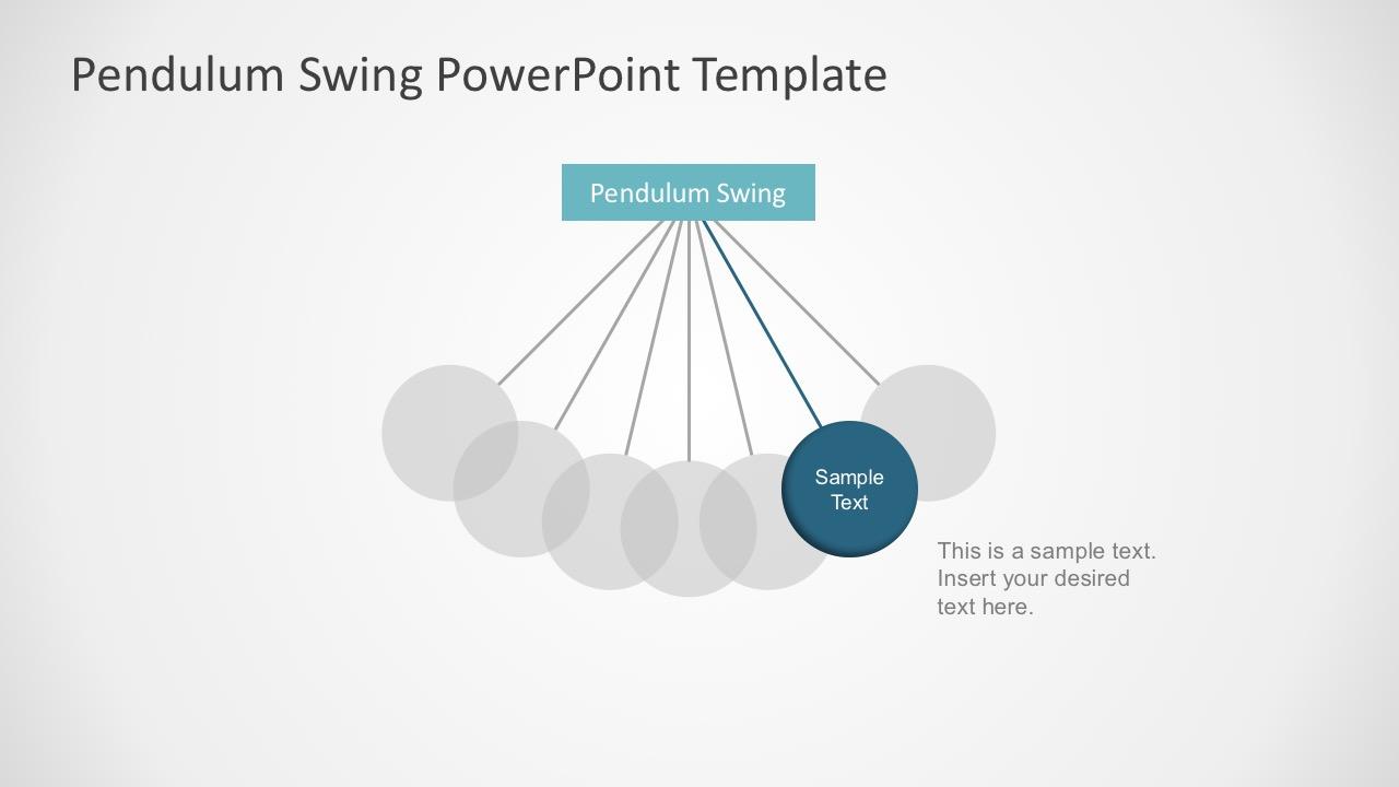 Editable Pendulum PowerPoint Template