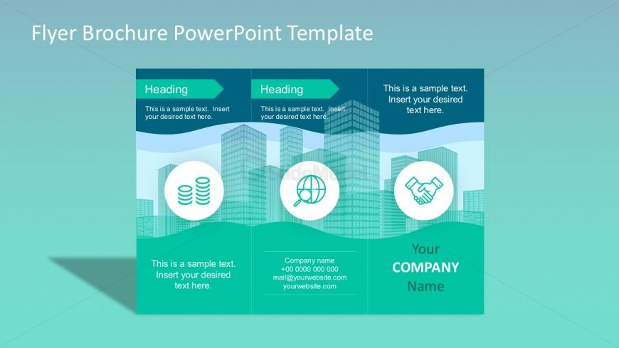Digital brochure powerpoint templates slidemodel for Brochure templates for powerpoint