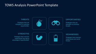 TOWS PowerPoint Chart Template