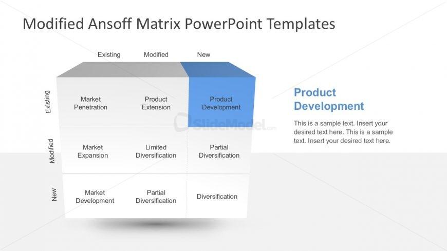 Matrix Powerpoint Template