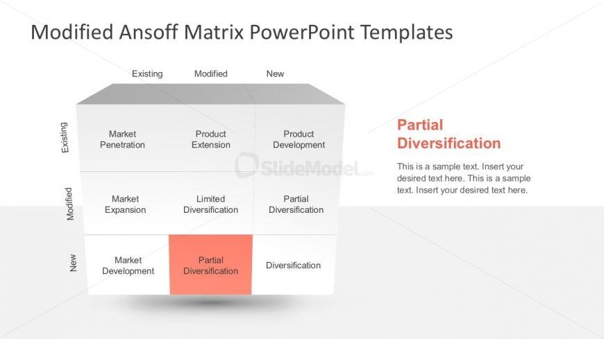 9 Boxes Market Expansion Matrix Slides