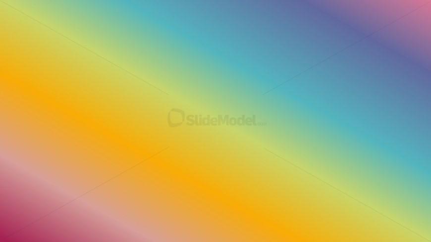 Six Color Gradient Sample Slide