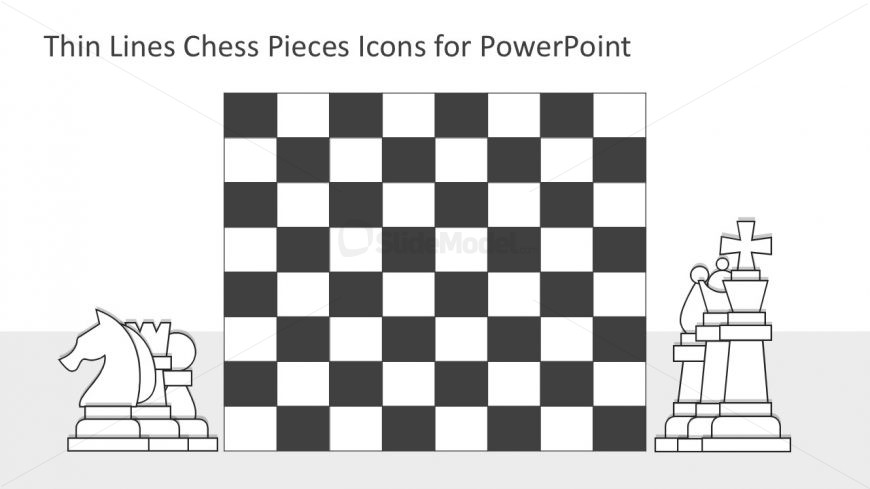 Chess Set PowerPoint Template - SlideModel