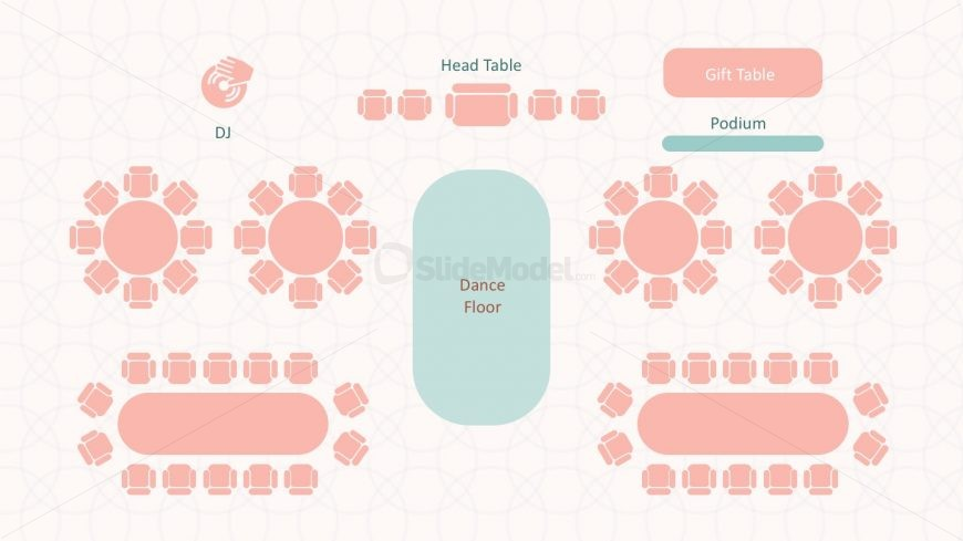 Wedding Reception Template Powerpoint  Slidemodel