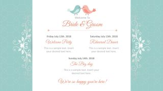 Bridal Slides PowerPoint Templates
