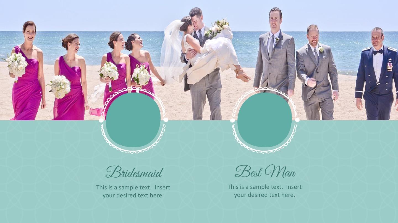 Wedding powerpoint template slidemodel designs template unique wedding invitaions toneelgroepblik Image collections