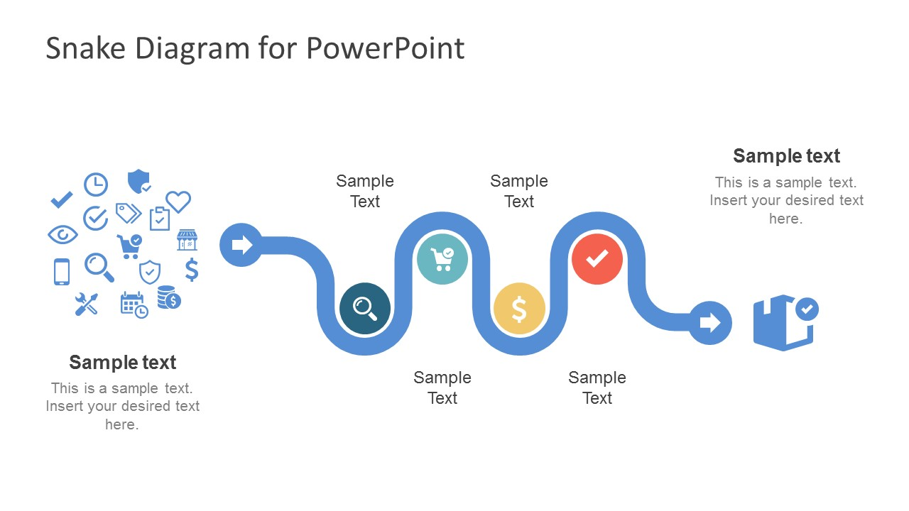 creative snake diagram powerpoint template slidemodel