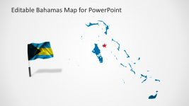 Bahamas Map Slide Template