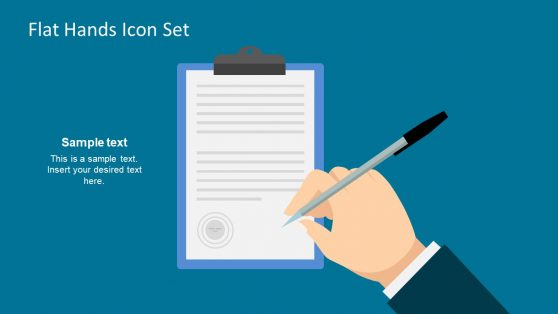 PowerPoint Report Template Clipboard Icon