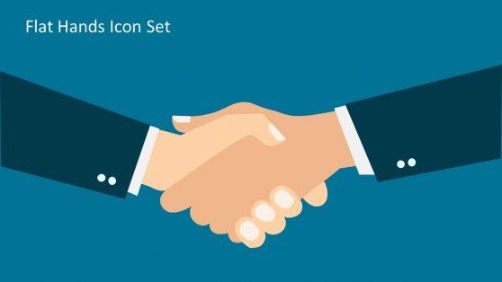 Presentation of Business Handshake