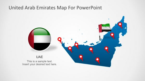 United arab emirates powerpoint templates animated united arab emirates powerpoint map toneelgroepblik Choice Image