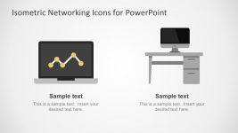 Technology Network Icons PowerPoint