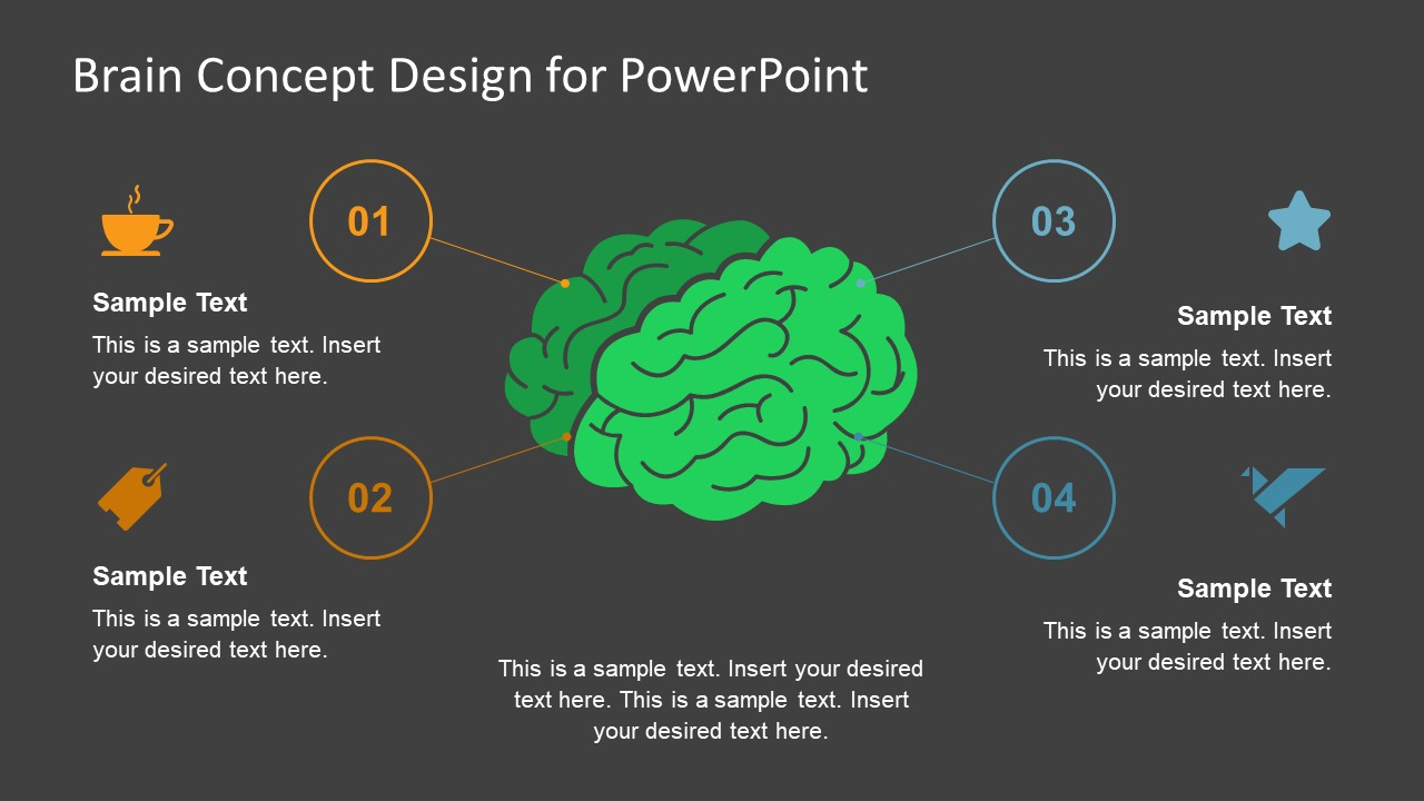 Brain Concept Diagram Powerpoint Templates Slidemodel