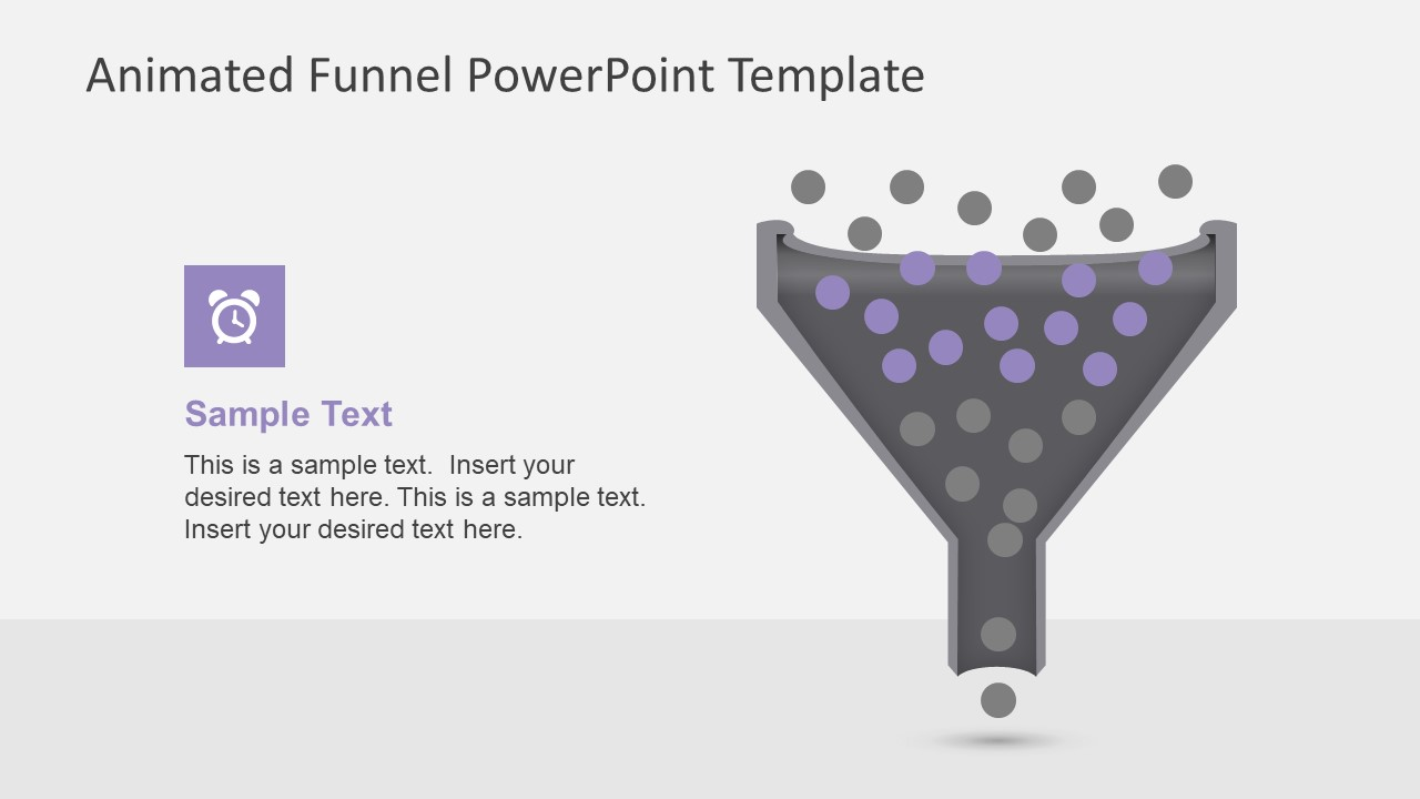 Animated Funnel Diagram for PowerPoint