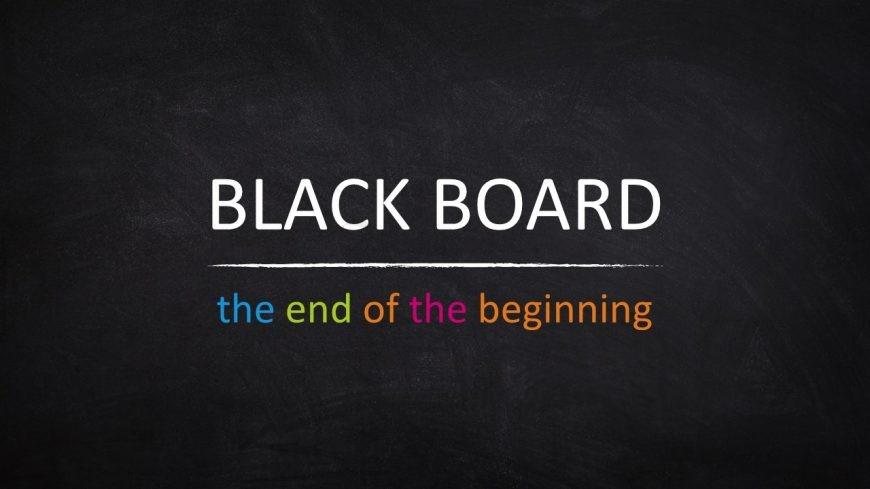Innovation Presentation on Blackboard