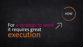 PowerPoint Template of Blackboard Background