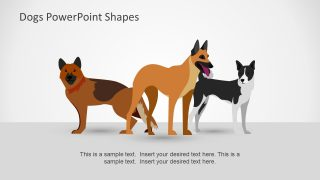 Domestic Pets PowerPoint Shapes