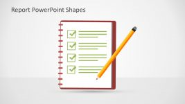 Checklist Pencil Notebook PowerPoint