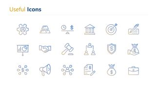 Gradient Corporate Business Icons