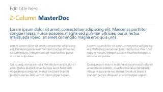 MasterDoc PowerPoint 2 Segments