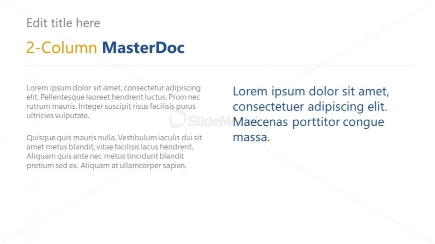 PPT MasterDoc Corporate Profile