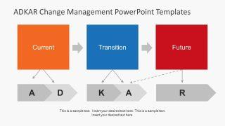 Flip Board Design PowerPoint Shapes