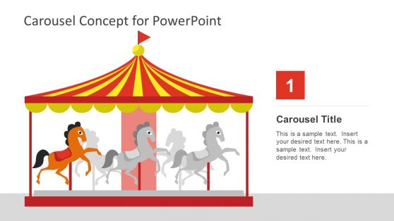 Printable Concept PPT Horse Ride