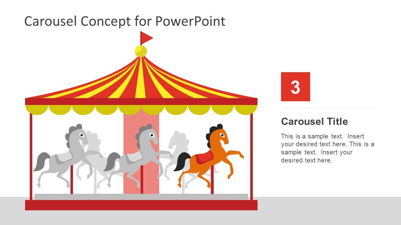 Funfair Circus Rotation Ride