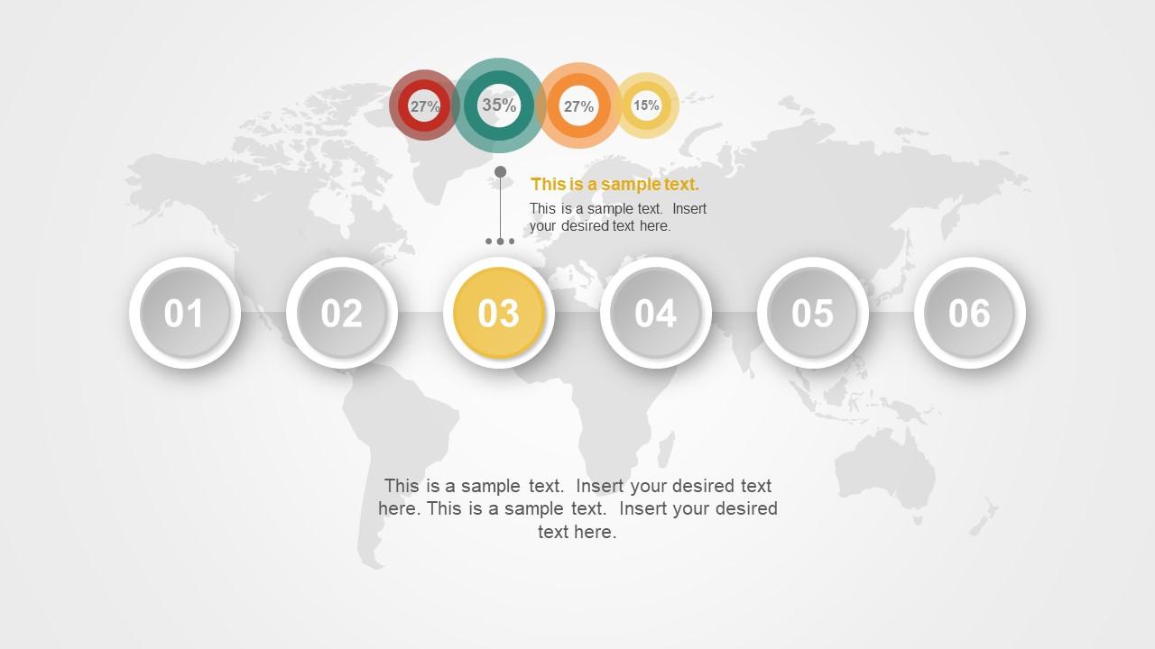 timeline template material powerpoint slidemodel