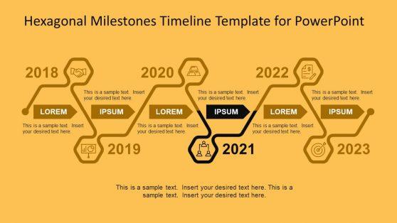 Timeline Chart for Project Slide