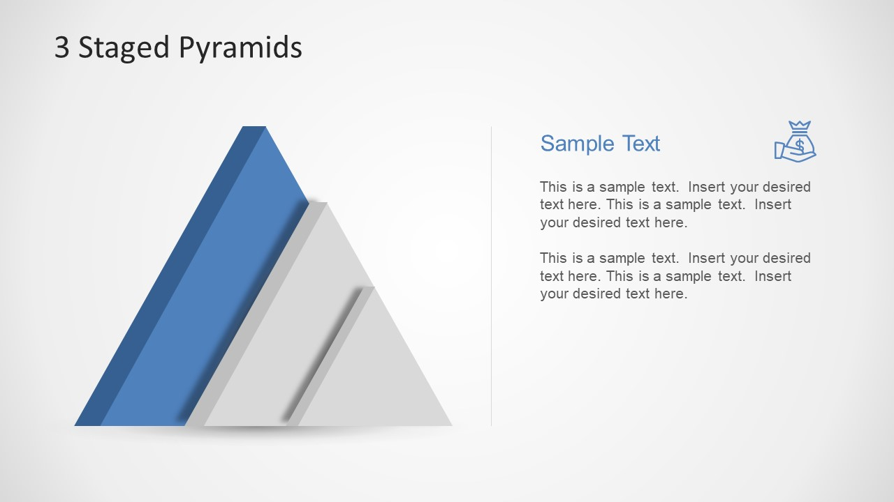 PowerPoint of 3D Pyramid Chart