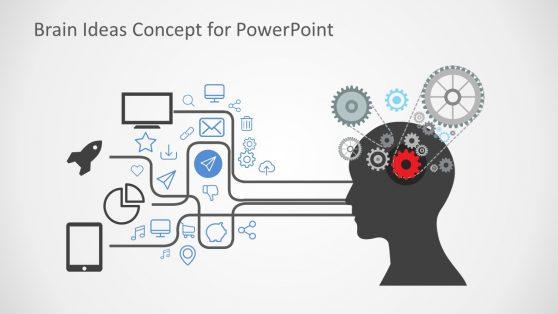 Infographic Presentation of Brain Activity