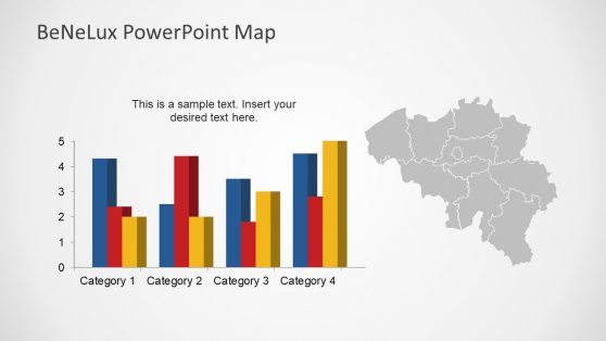 Data Driven Bar Chart Template Slide