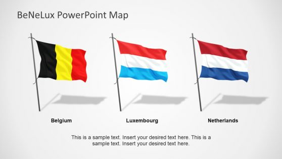 PowerPoint Flag on Pole Shapes