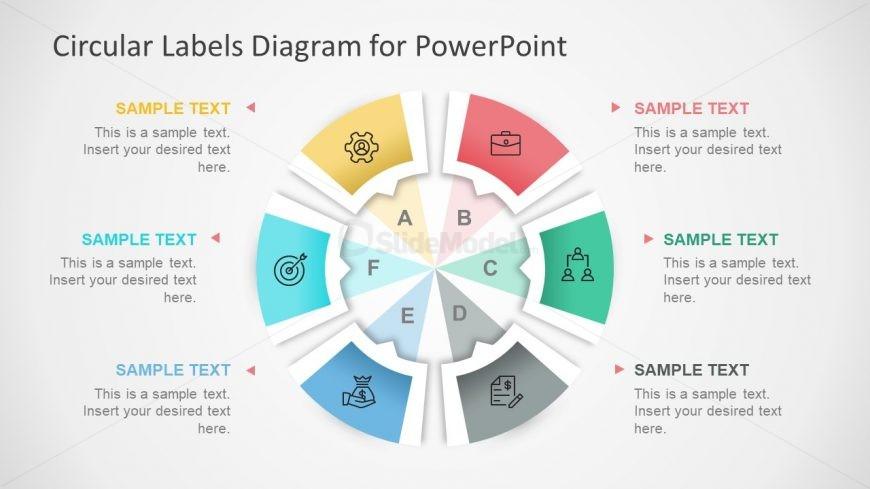 Label Diagram Circular Template