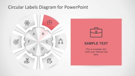 Circular Organizational Diagram Template