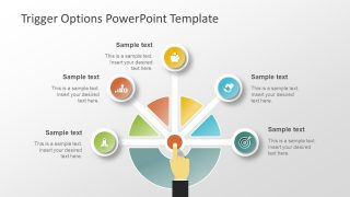 Five Trigger Options PowerPoint Template