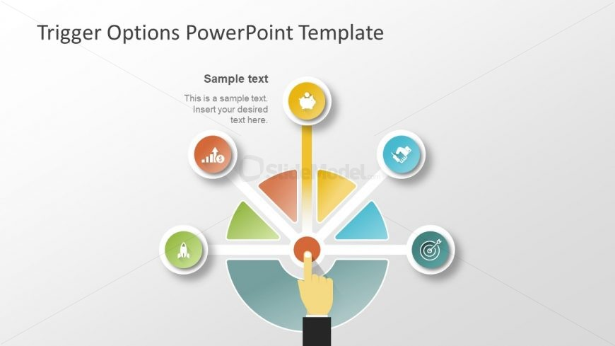Trigger Option Slide of PowerPoint Template