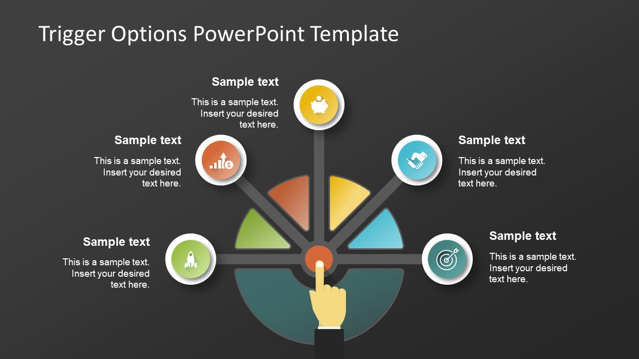 Trigger Options Powerpoint Template Slidemodel