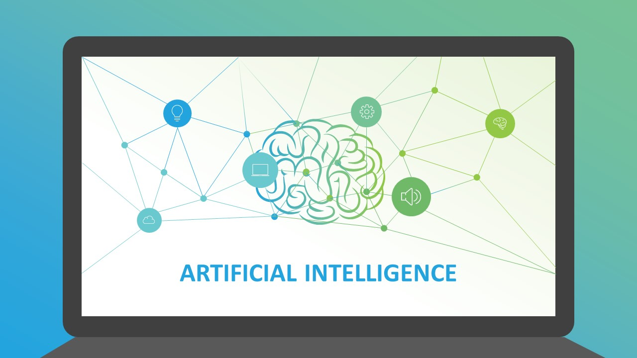 Artificial intelligence powerpoint template slidemodel artificial intelligence powerpoint template toneelgroepblik Gallery