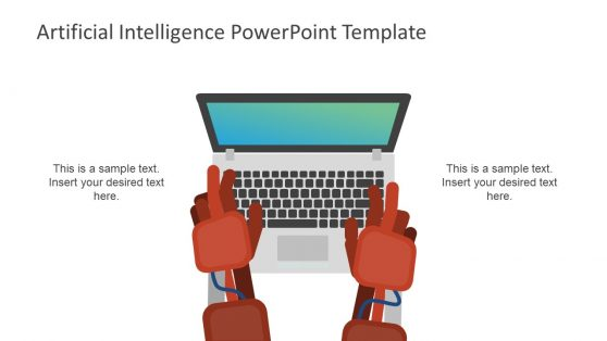 Ai powerpoint templates robotic artificial intelligence presentation slide toneelgroepblik Images
