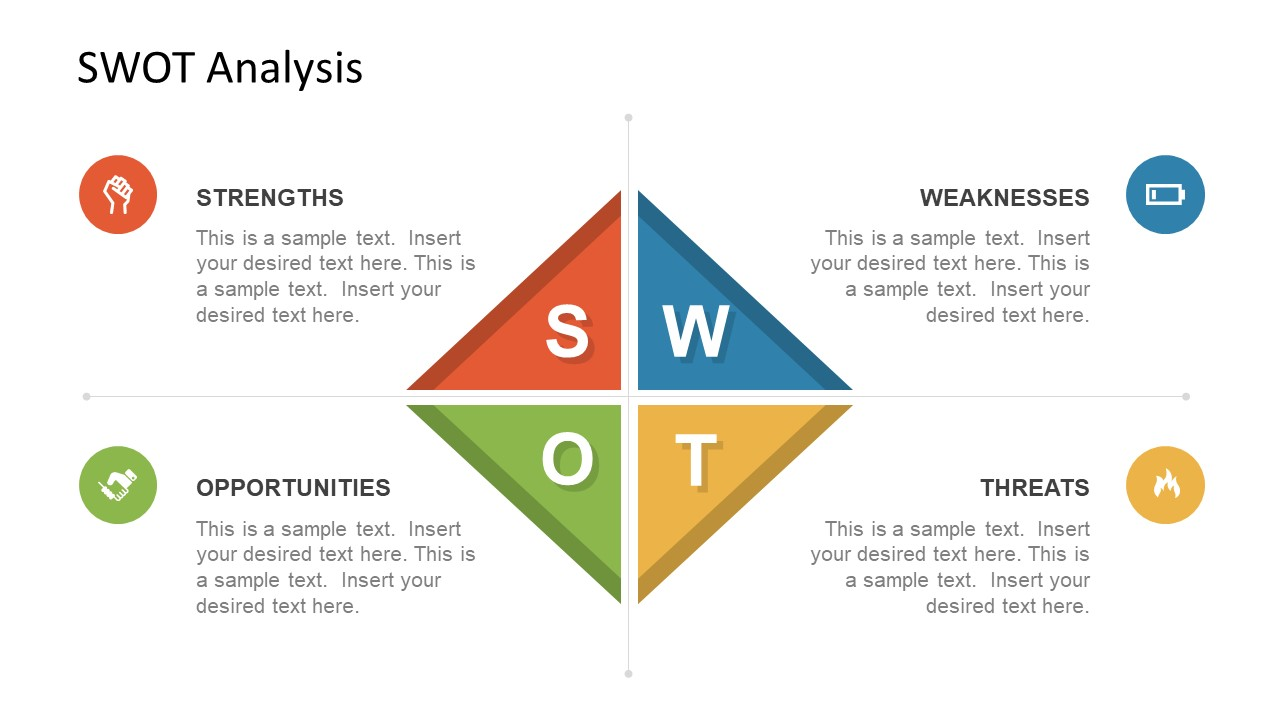 Infographic Slide of SWOT Analysis
