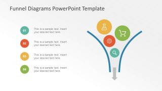 Funnel Diagram for PowerPoint Template